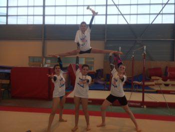 Championnes académiques en gymnastique Acrobatique