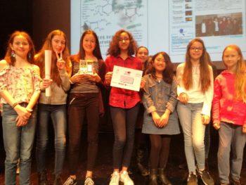 Le Luzard : 2ème au concours académique des journaux scolaires