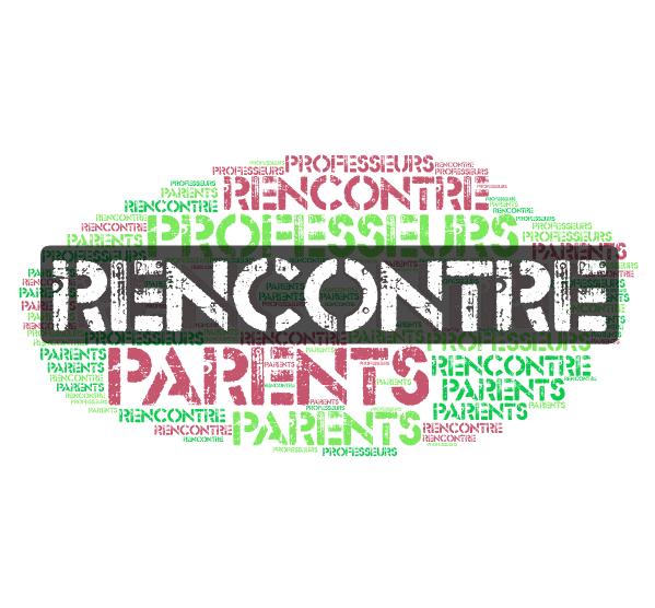 Réunion Parents Professeurs Mardi 18 septembre 18h