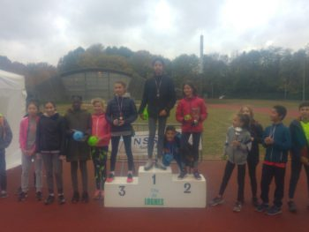 Podium du Cross de district