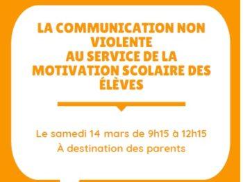 La communication non violente au service de la motivation scolaire des élèves